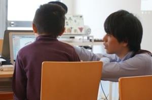 アンズテックプログラミング教室授業風景
